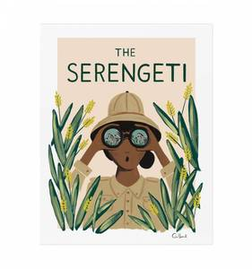 [Rifle Paper Co.] Serengeti 18 x 24""