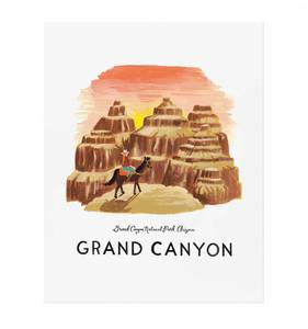 [Rifle Paper Co.] Grand Canyon 11 x 14""