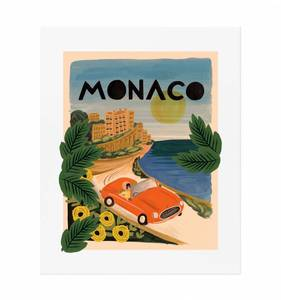 [Rifle Paper Co.] Monaco 11 x 14