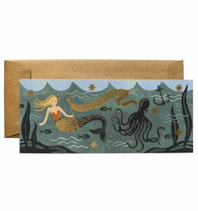 [Rifle Paper Co.] Under The Sea Birthday No.10 Card
