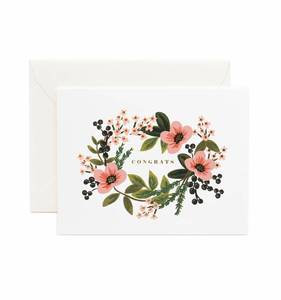 [Rifle Paper Co.] Congrats Bouquet Card
