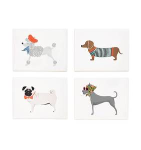 [Rifle Paper Co.] Assorted Dog Card Set