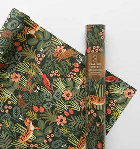 [Rifle Paper Co.] Jungle Wrapping Sheets [3 sheets]