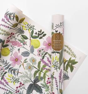 [Rifle Paper Co.] Herb Garden Wrapping Sheets [3 sheets]