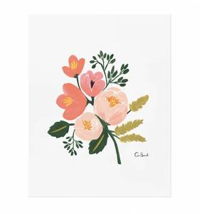 [Rifle Paper Co.] Rose Botanical 8 x 10