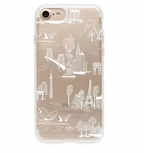 [Rifle Paper Co.] Clear City Toile iPhone Case (iPhone 7, 7+ Only)