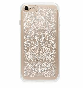[Rifle Paper Co.] Clear Floral Lace iPhone Case For 7/7+ [Only]