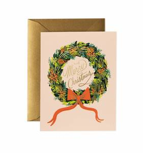 [Rifle Paper Co.] Christmas Wreath Card
