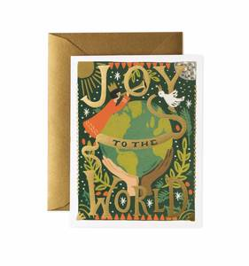 [Rifle Paper Co.] Joy To The World Card