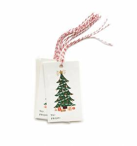 [Rifle Paper Co.] Christmas Tree Gift Tag