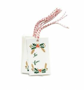 [Rifle Paper Co.] Garland Gift Tag
