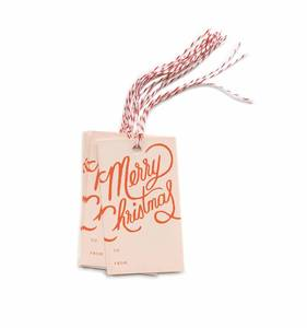 [Rifle Paper Co.] Merry Christmas Gift Tag