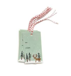 [Rifle Paper Co.] Reindeer Gifr Tag