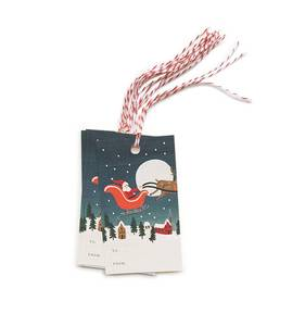 [Rifle Paper Co.] Santa's Sleigh Gift Tag