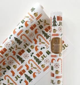 [Rifle Paper Co.] Favorite Things Wrapping Sheets [3 sheets]