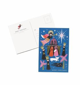 [Rifle Paper Co.] Nativity  Postcards [10 postcards]