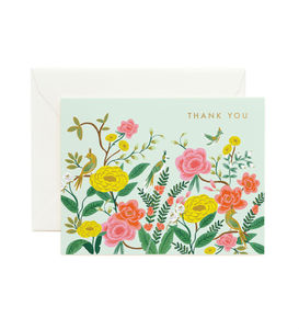 [Rifle Paper Co.] Shanghai Garden Thank You Card