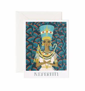 [Rifle Paper Co.] Nefertiti Card