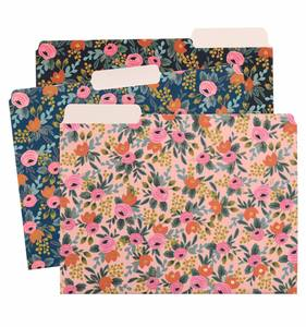 [Rifle Paper Co.] Rosa File Folder Sets