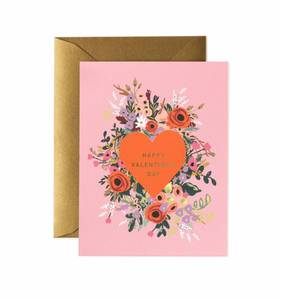 [Rifle Paper Co.] Blooming Heart Valentine Card