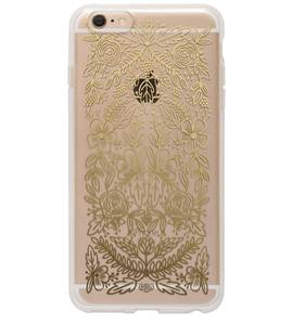 [Rifle Paper Co.] Clear Gold Floral Lace iPhone Case For 6+/6s+ [Only]