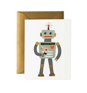 [Rifle Paper Co.] Robot Love Card