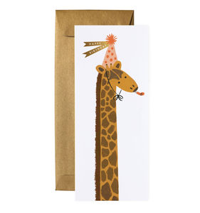 [Rifle Paper Co.] Giraffe Birthday No.10 Card