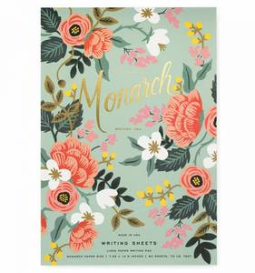 [Rifle Paper Co.] Mint Birch Monarch Writing Pad