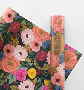 [Rifle Paper Co.] Juliet Rose Wrapping Sheets [3 sheets]