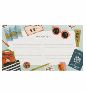 [Rifle Paper Co.] Bon Voyage Notepad