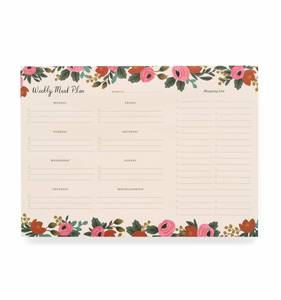 [Rifle Paper Co.] Rosa Meal Planner