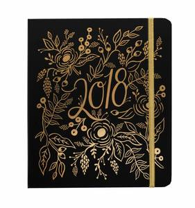 [Rifle Paper Co.] 2018 Floral Foil Covered Planner