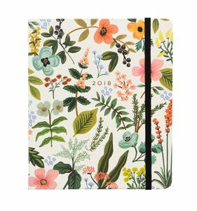 [Rifle Paper Co.] 2018 Herb Garden Covered Planner