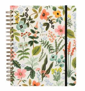 [Rifle Paper Co.] 2018 Herb Garden Spiral Bound Planner