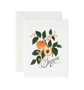 [Rifle Paper Co.] Georgia Peach Card