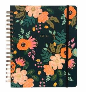[Rifle Paper Co.] 2018 Lively Floral Spiral Bound Planner