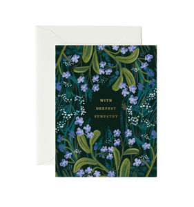 [Rifle Paper Co.] Sympathy Bouquet Card