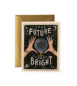 [Rifle Paper Co.] Your Future Looks Bright Card