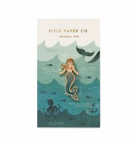 [Rifle Paper Co.] Mermaid Enamel Pin