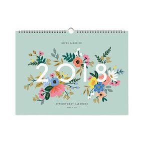 [Rifle Paper Co.] 2018 Appointment Calendar