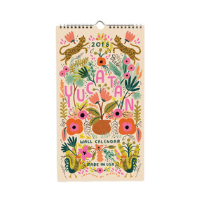 [Rifle Paper Co.] 2018 Yucatan Calendar