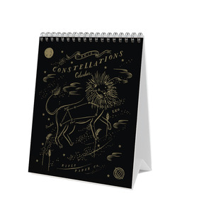 [Rifle Paper Co.] 2018 Constellations Desk Calendar