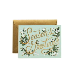 [Rifle Paper Co.] Mistletoe Seaseon's Greetings Card