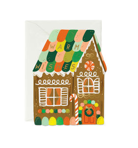 [Rifle Paper Co.] Gingerbread House Card