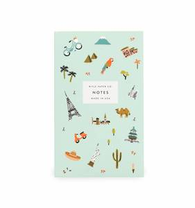 [Rifle Paper Co.] Wanderlust Pocket Notepad