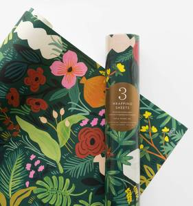 [Rifle Paper Co.] Terracotta Wrapping Sheets [3 sheets]