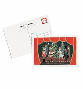 [Rifle Paper Co.] Nutcracker Postcards [10 postcards]