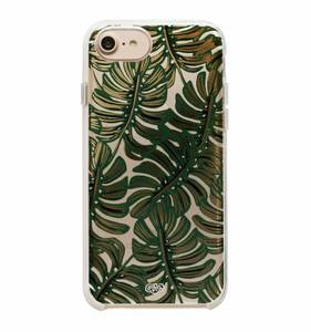[Rifle Paper Co.] Clear Monstera iPhone Case For 6/6s/7/8, 6+/7+/8+