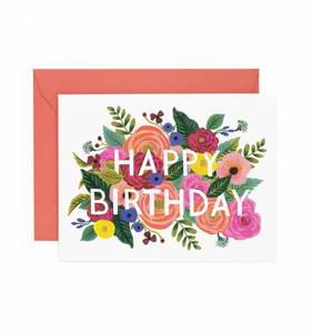 [Rifle Paper Co.] Juliet Rose Birthday Card