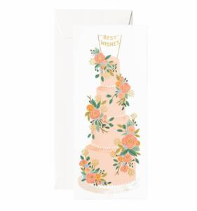 [Rifle Paper Co.] Tall Wedding Cake No.10 Card